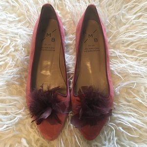 Anthropologie KMB Suede Flats